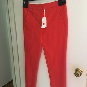 NWT Tory Burch Vanner cropped pants